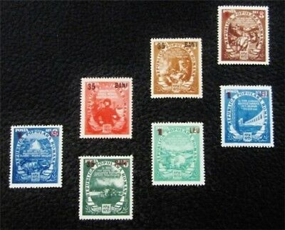 nystamps Romania Stamp # 862-868 Mint OG H $39