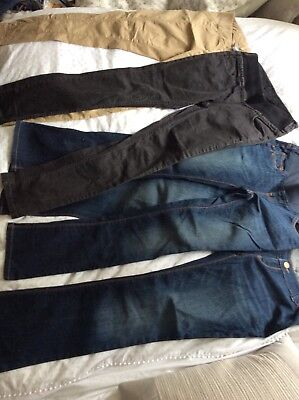 Maternity Jeans Trousers, NEXT, Isabella Oliver, Great Condition, Bundle, Size 8