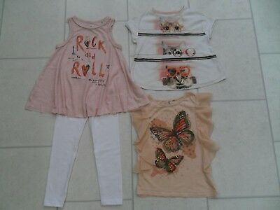 Girls Tops & New Leggings Bundle Age 4/5 Years *Some Next*