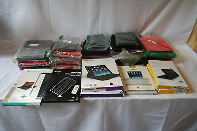 Lot of 70 Tablet Keyboards - Includes Logitech, Folio, and Zagg