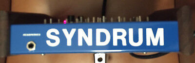 Pollard Syndrum Twin original Urvater der Drumsynthesizer Syncussion, Simmons