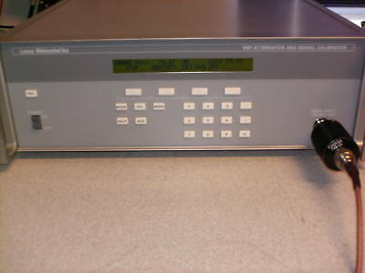 Weinschel VM-7 Attenuator and Signal Calibrator