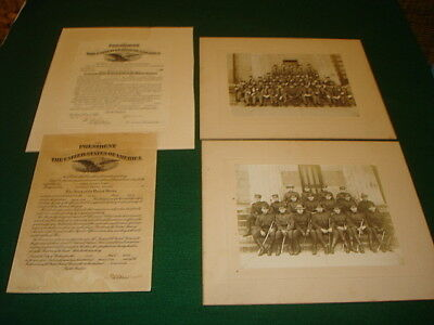 Wwi Officer's Promotions, Photos From Magnus J. Witman, 7Th Infantry, 3Rd Div.