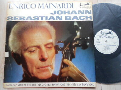 EURODISC - Bach Cello Suites 3 & 4 - Enrico MAINARDI