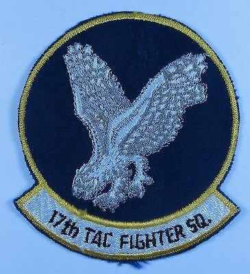 USAF 17th Tactical Fighter Squadron Patch