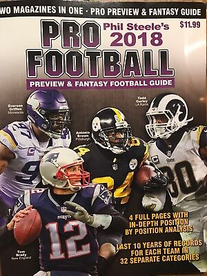 PHIL STEELE'S COLLEGE Football 2018 Preview Book Guide