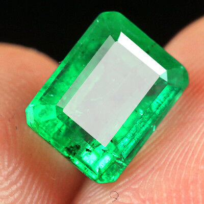 2.1Ct 100% Natural Museum Grade Green Emerald Collection QMD3422