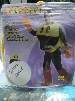 Incognealo Halloween Costume Pac Man Men Adult