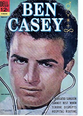 Ben Casey 4 (1963) Marijuana! Tv Series! Vince Edwards Cover! Pin Up! Fine!