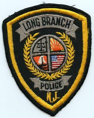 "Long Branch New Jersey Police Department Officer 4.75"" Patch LEO Law Enforcement"