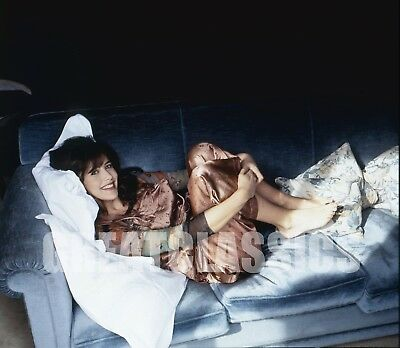 Sophie Marceau Lovely Young Pinup 2 1/4 Color Camera Transparency