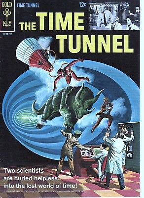 Time Tunnel 1 (1966) High Grade Copy! Tv Sci Fi! Photo Back Cover!