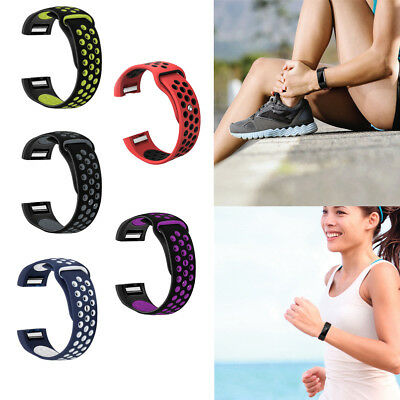 For Fitbit Charge 2 Silicon Bracelet Smart Wrist Sport Watch Band Strap Casual B