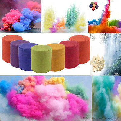 Colorful Smoke Cake Smoke Effect Show Round Photography Aid DIY Toy Gifts