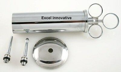 Ear Syringe 2oz Kit with Shieled & Detachable Tips NEW ENT Surgical Instruments