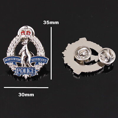 Northern Territory Police Badge Style Pin (social)