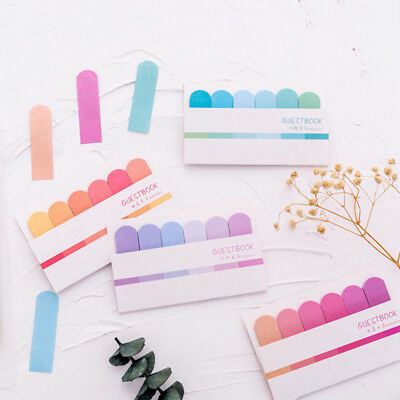 Cute Bookmark Memo Paper Marker Notice Sticker Flags Tab Sticky Note Stationery