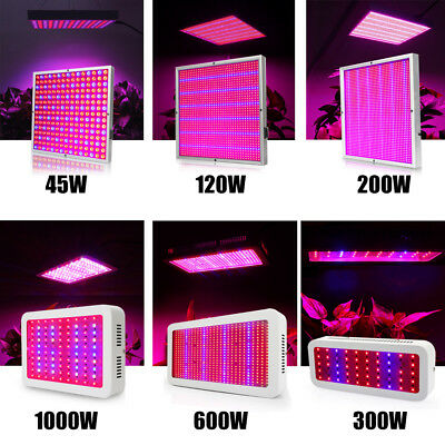 28W-3000W LED Grow Light Lamp Full Spectrum Veg Flower Pflanzenlampe Gewächshaus