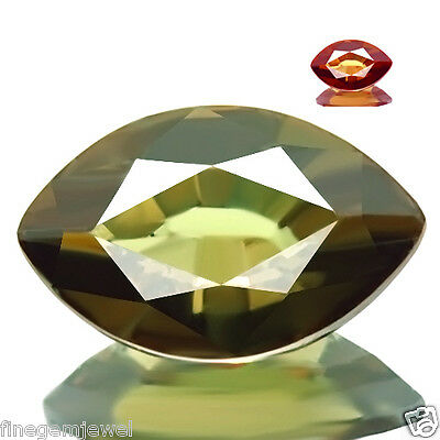 0.74ct WOW HUGE NATURAL COLOR CHANGE GARNET 5A+ BEST RED FLASH AWESOME GEMSTONE