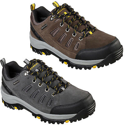 Skechers Relaxed Fit: Relment Sonego Trainers Mens Memory Foam Trail Shoes 65673
