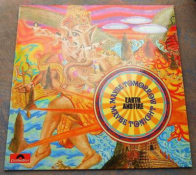 LP EARTH AND FIRE Maybe Tomorrow, Maybe Tonight 1st GERMANY, MINT-
