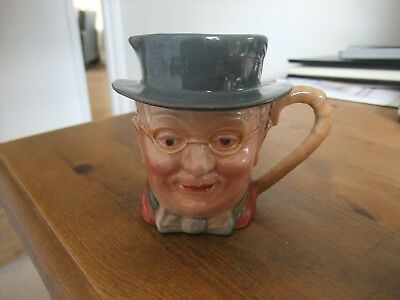 Marvellous Vintage Character Jug By Beswick Mr Pickwick