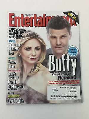 April 7/14 2017 Entertainment Weekly #1460/1461~BUFFY THE VAMPIRE SLAYER REUNION