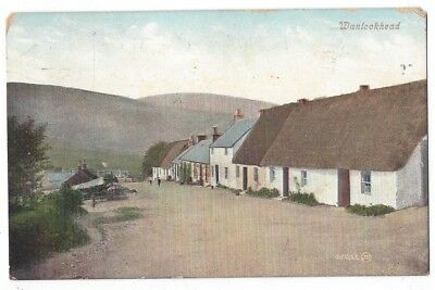 WANLOCKHEAD Highest House in Scotland, Caledonian Railway Official Postcard 1916