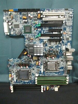 HP Z600 Workstation Dual LGA1366 Motherboard 461439-001 460840-002 W/ Xeon SLBF5