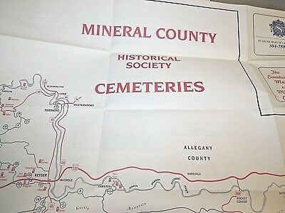 Cemetery Map of Mineral County WV. ~ Mineral County Historical Society