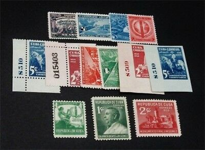 nystamps Spain Cub Stamp # 322 // 360 Mint OG H / NH $32