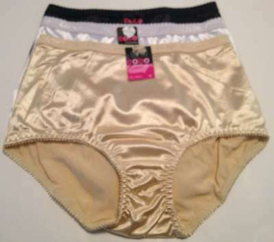 a1dc696b1af6 Coco Secret Lot 3 Womens Panty Brief Underwear Sml Med Lg Xlg Black White  Beige