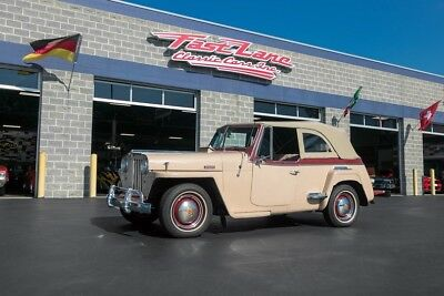 Willys Very Original 1949 Willys Jeepster 3 Owners From New New Soft Top Original New Mexico Jeep