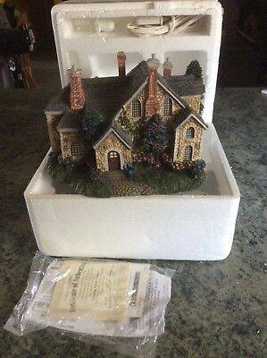 Spring Gate Manor, Thomas Kinkade, Hawthorne Village Collection, model, 79990
