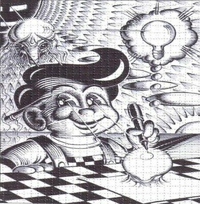 Rare Psychedelic Big Boy  perforated sheet BLOTTER ART psychedelic art