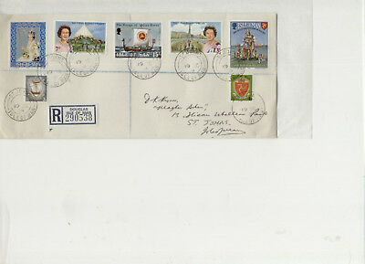 Isle of Man 1979 St Johns Registered Cover