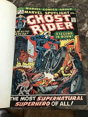 marvel spotlight 5 ghost rider Bound Lot Wow Amazing