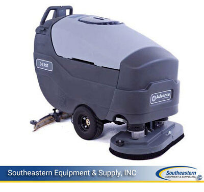 """Reconditioned Advance Warrior 34 RST Floor Scrubber 34"""" Disk"""