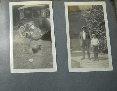 VINTAGE PHOTO ALBUM with OVER 100 PICTURES-1910-1917