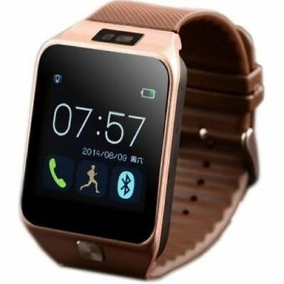 DZ09 Smart Watch Phone & Camera Bluetooth Apple & Android Compatible GT08 Newly