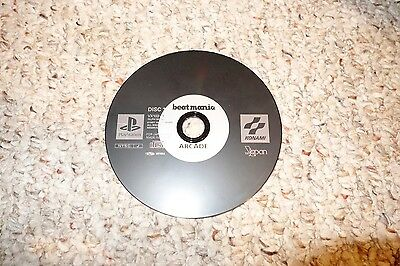 BeatMania Japan Import (Sony PlayStation 1, 1998) Disk Only ps1 JP Arcade