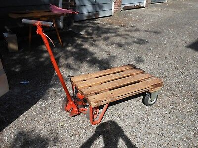 Industrial Pallet Trolley Loading & shifting Gear, Great Coffee Table ""