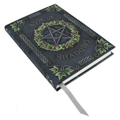 BOOK OF SHADOWS Ivy Pentagram Journal Diary Fantasy Art pagan wicca witch