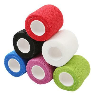Self Adhesive Bandage Rolls Strong Elastic Adherent Tape First Aid Wrap NEW S