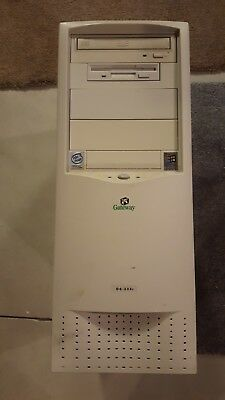 Gateway G6-333c White includes keyboard and power cable. Good working condition