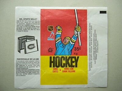 1987/88 O-Pee-Chee Nhl Hockey Card Wax Pack Wrapper Luc Robitaille Rookie Sw Opc