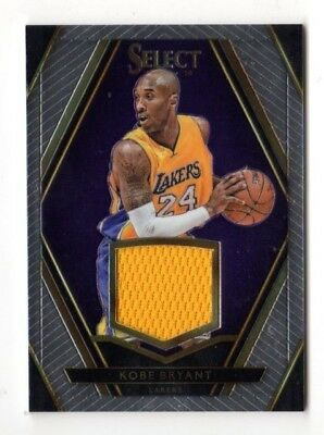 Kobe Bryant Nba 2015-16 Select Swatches # /149 (Los Angeles Lakers)