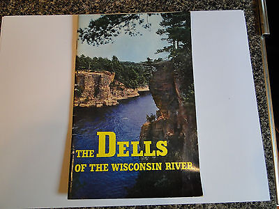 Wisconsin Dells 32 Page Booklet / Brochure 1948 with map and photos Vintage