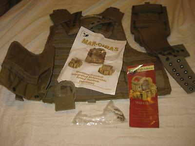 Eagle Industries Mar-Ciras Combat Intergrated Releasable Vest Medium Khaki New