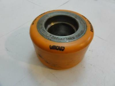 """42002 Old-Stock, Crown Equip 083179-308 Forklift Wheel, 4"""" OD, 2"""" ID, 1-7/8"""" ID"""